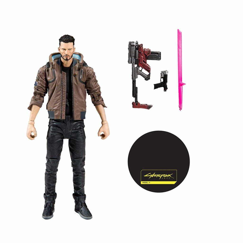 Cyberpunk 2077, V, action figure