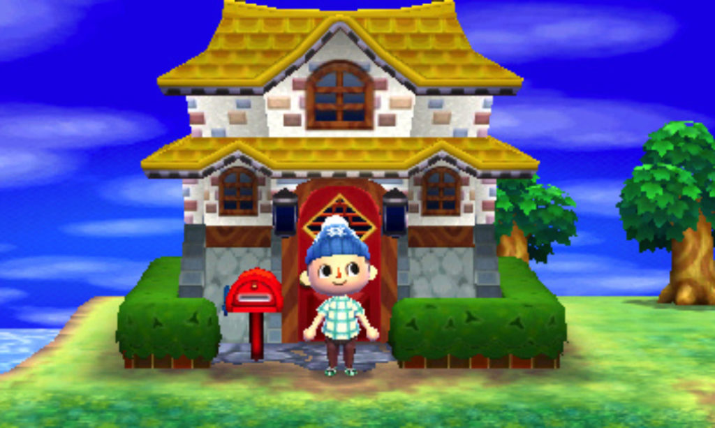 Animal Crossing una casa