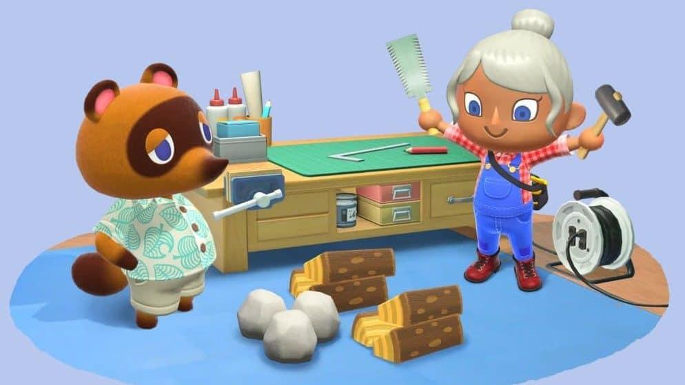 Animal Crossing crafting