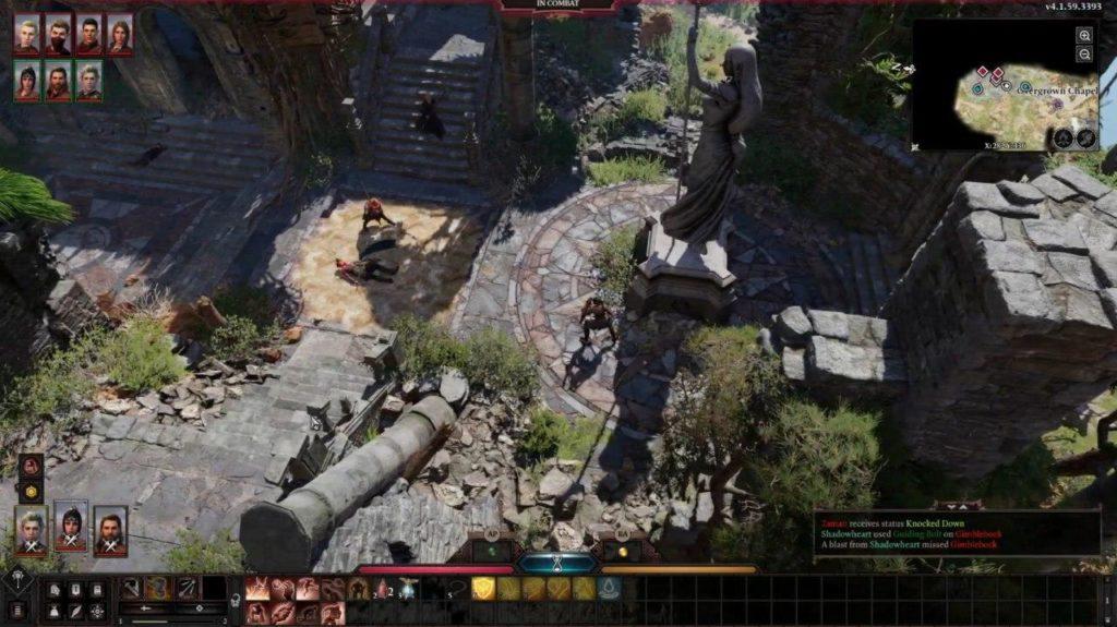 Sistema di gioco Baldur's gate 3