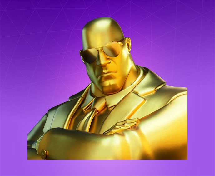 fortnite skin dorate