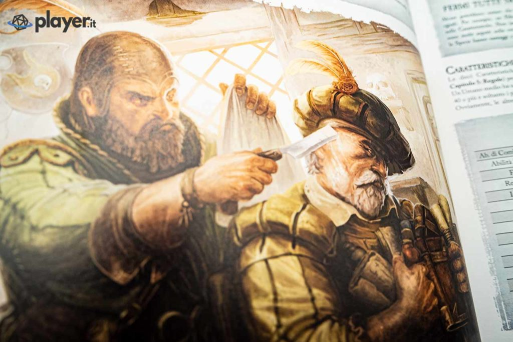 illustrazione manuale warhammer fantasy barbiere