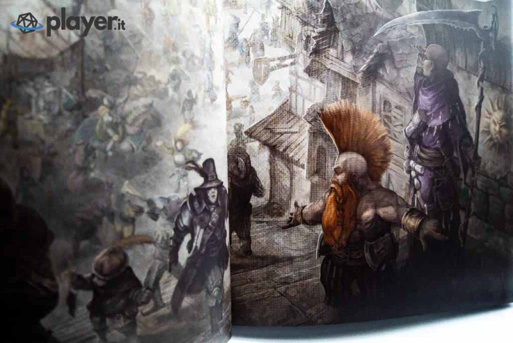 illustrazione nano warhammer fantasy