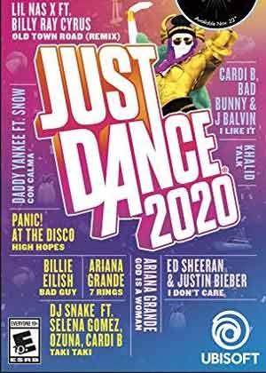 locandina del gioco Just Dance 2020