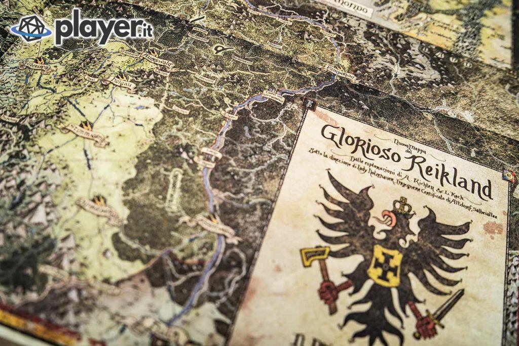 mappa del reikland in warhammer fantasy