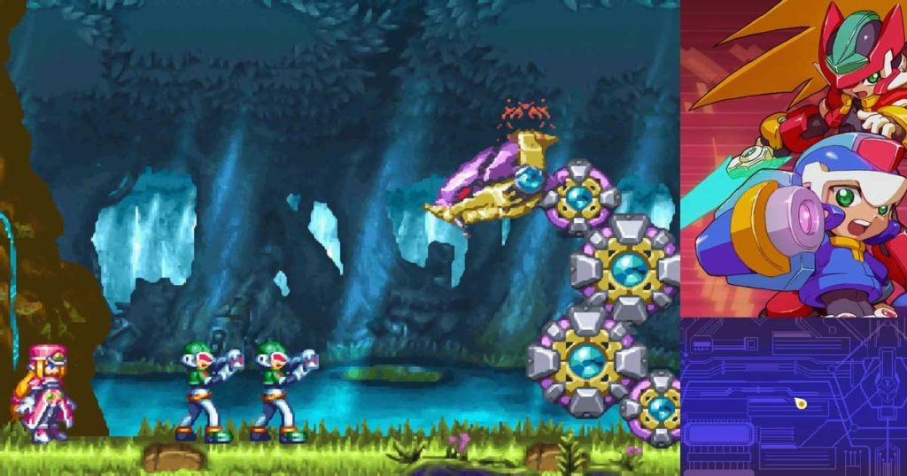 il voto di mega man zero/zx legacy collection