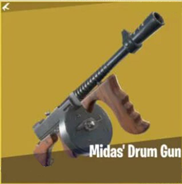 Fortnite armi mitiche