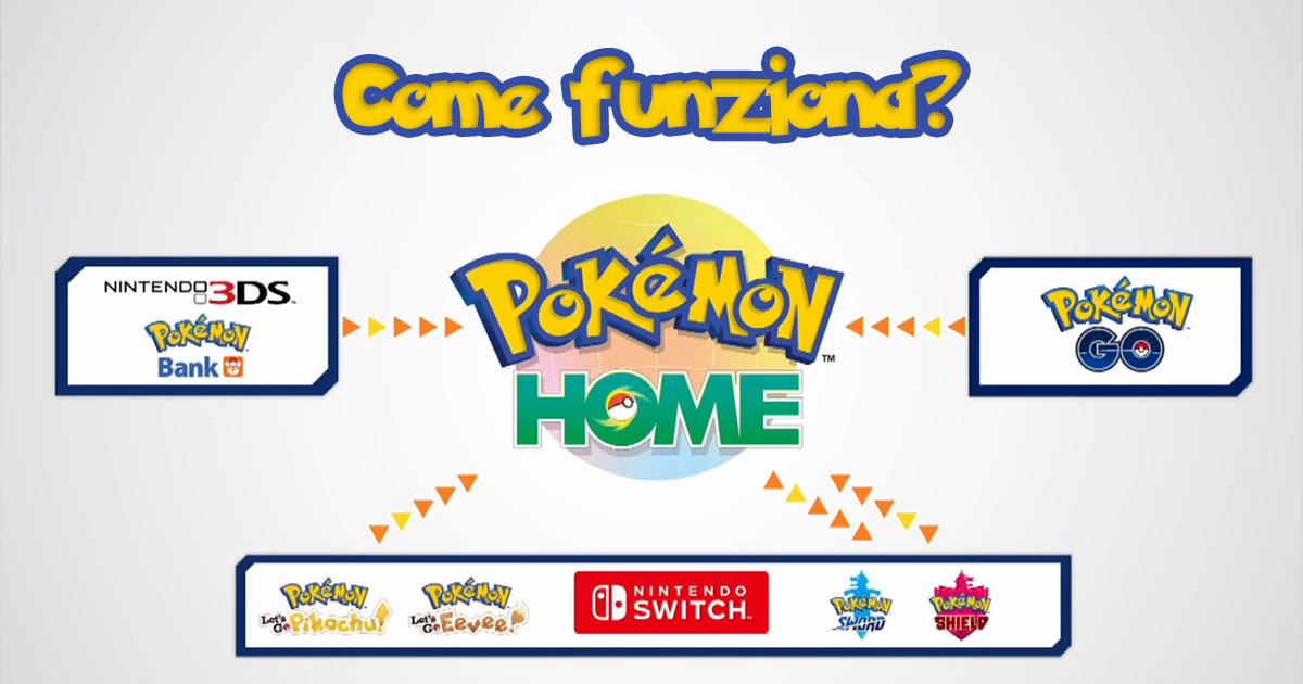 Pokemon Home come funziona? La guida completa per trasferire pokemon
