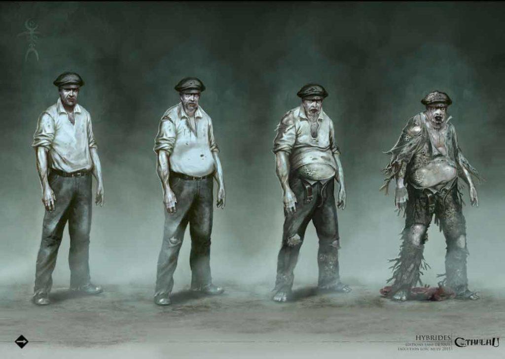 poliziotti cthulhu