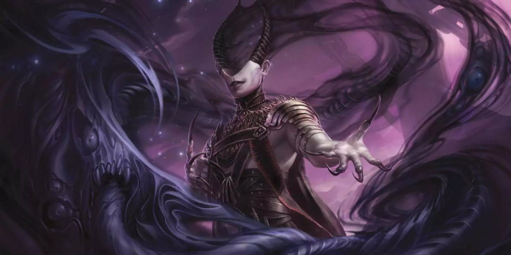 Il planeswalker Ashiok, manipolatore di sogni e incubi, personaggio di Magic: the Gathering