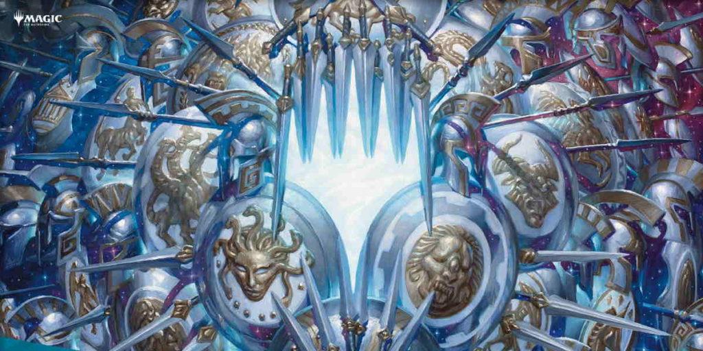 Illustrazione promozionale per Theros Beyond Death