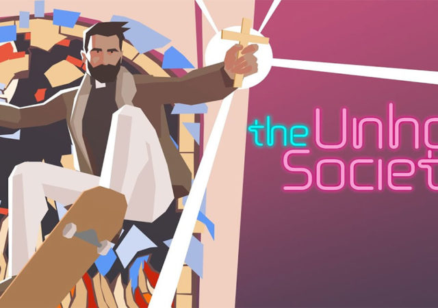 the unholy society copertina