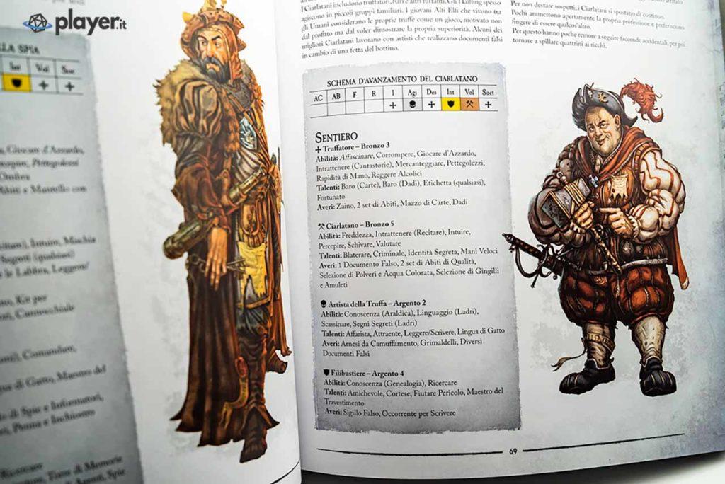 warhammer fantasy classe ciarlatano