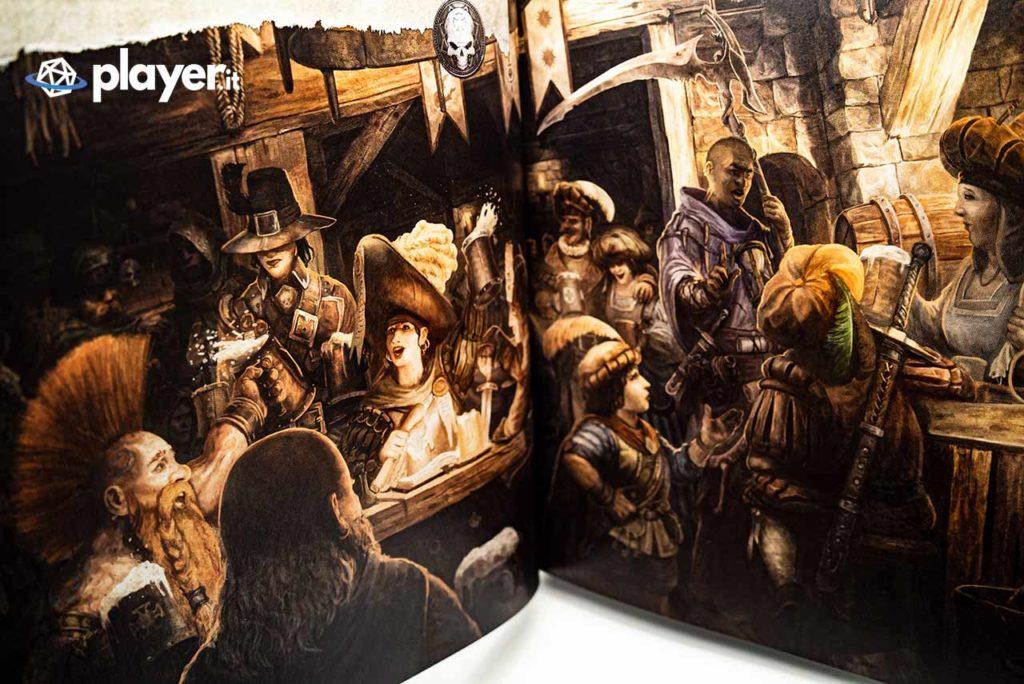 warhammer fantasy illustrazione manuale