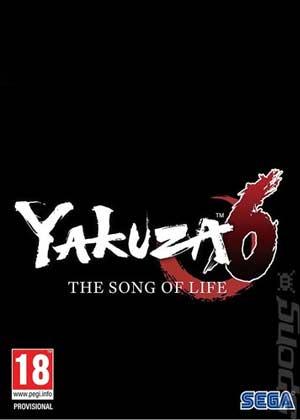 yakuza 6 copertina del gioco