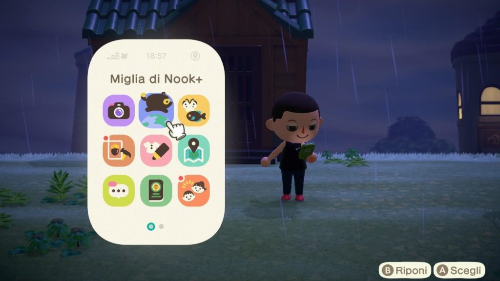Animal Crossing New Horizons Nook Phone
