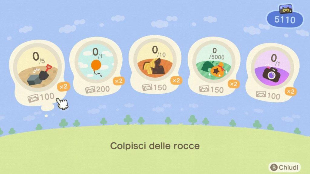 Animal Crossing New Horizons passi