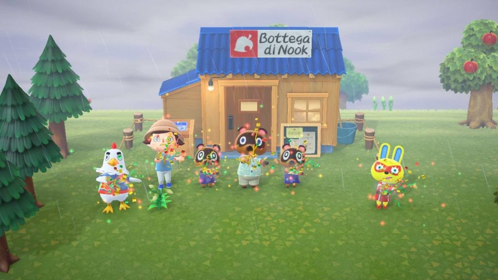 Animal Crossing New Horizons Bottega di Nook
