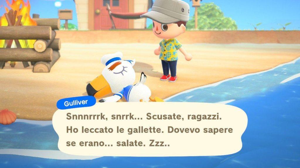Animal Crossing New Horizons Gulliver