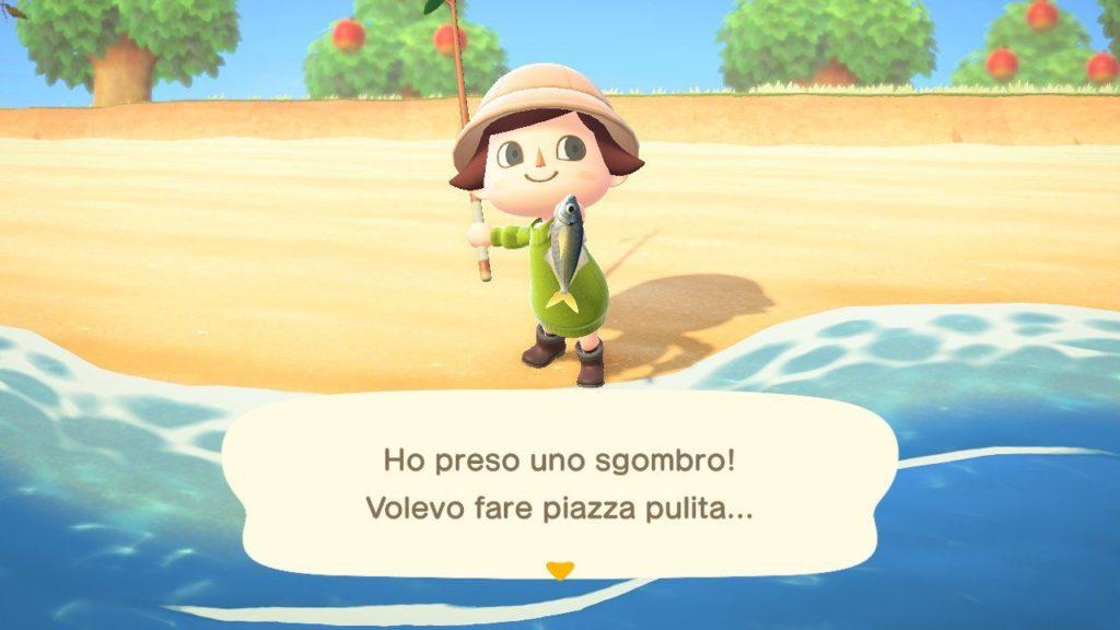 Animal Crossing New Horizons Pesca