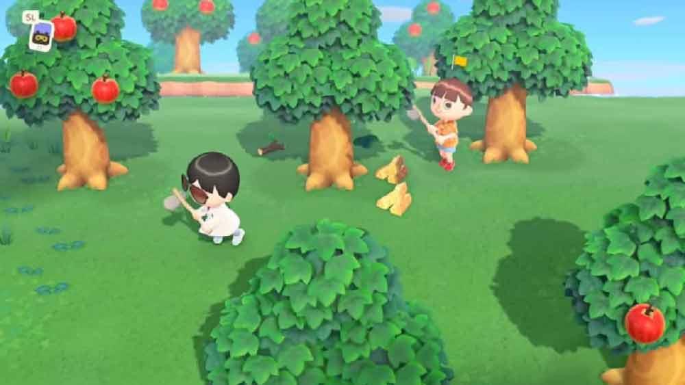 animal crossing alberi