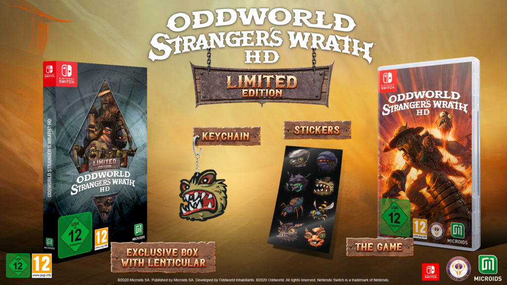 oddworld stranger's wrath hd limited edition