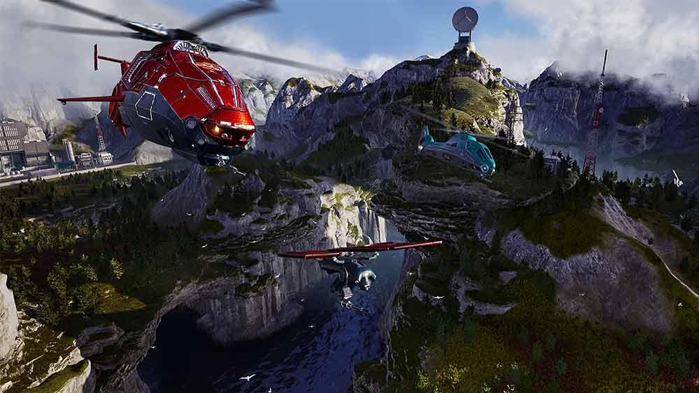 comanche elicotteri e droni
