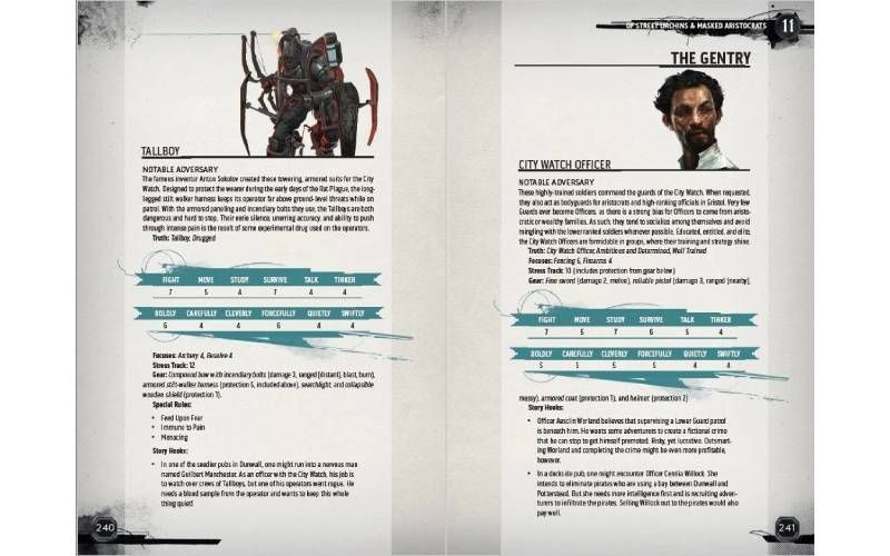 Dishonored tabletop RPG, Dishonored