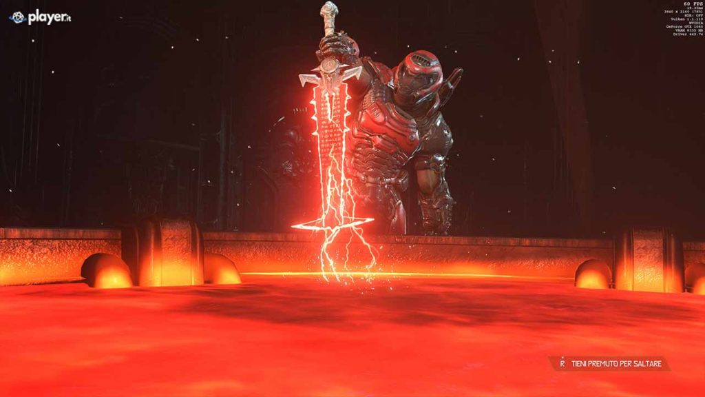 Doom eternal spada demoniaca