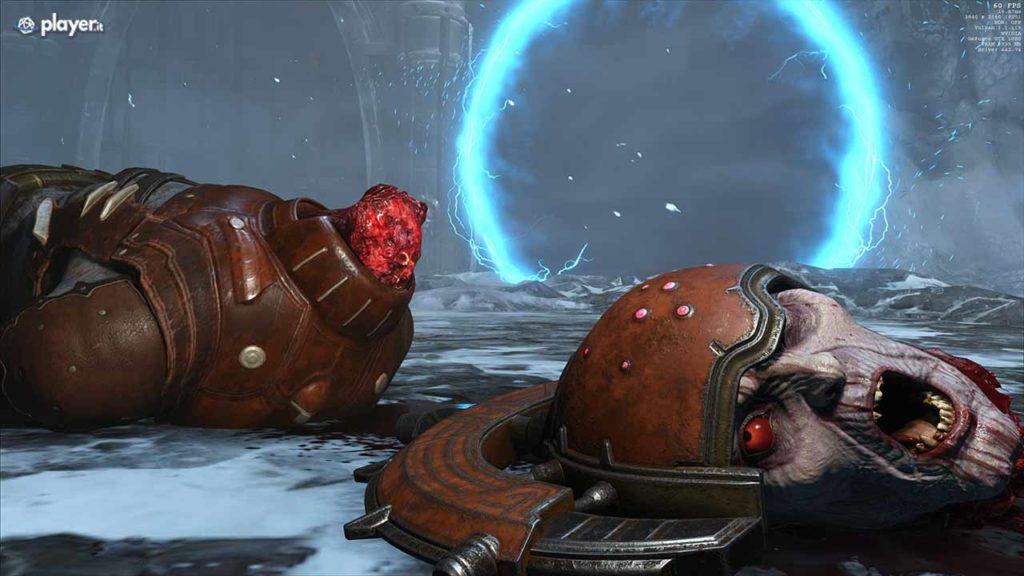 Doom eternal splatter