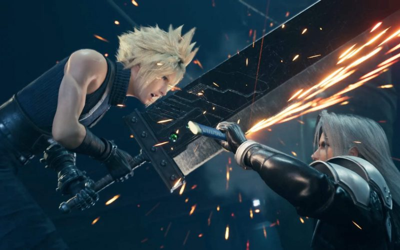 Final Fantasy VII Remake, Cloud Strife, Sephiroth