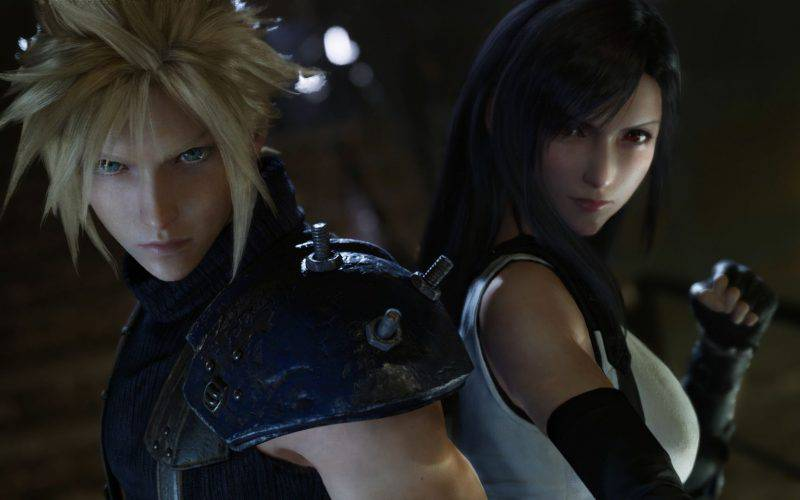Final Fantasy VII Remake, Cloud Strife,Tifa Lockhart