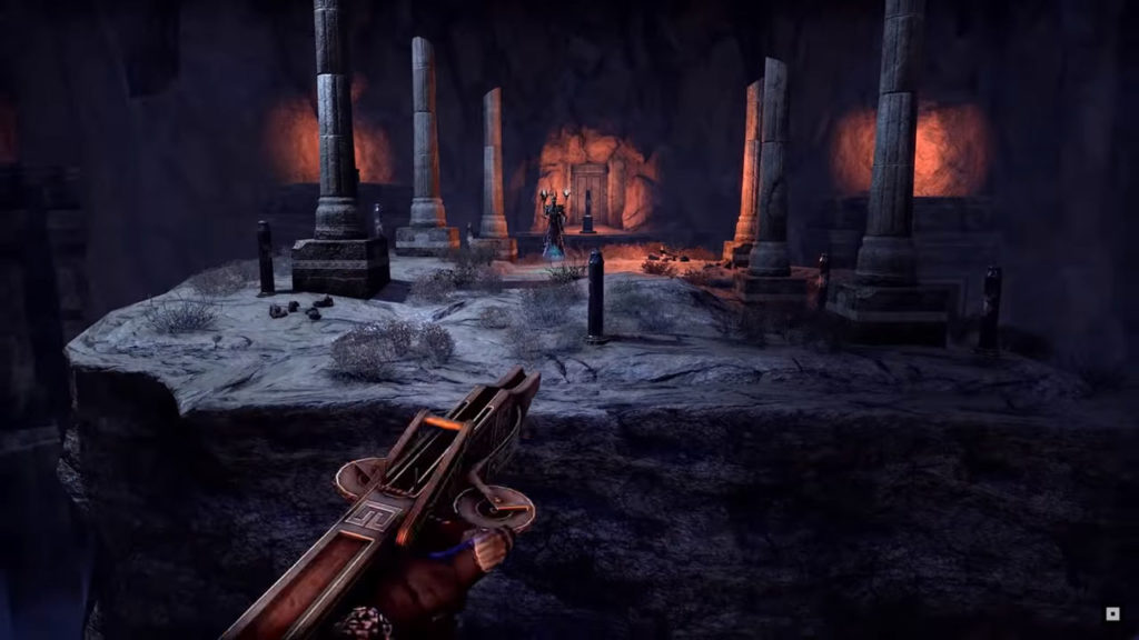 La divertente meccanica del grappling hook, il rampino in The Elder Scrolls Online - Harrowstorm