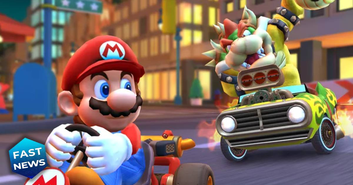 Mario Kart Tour, Mario, Bowser