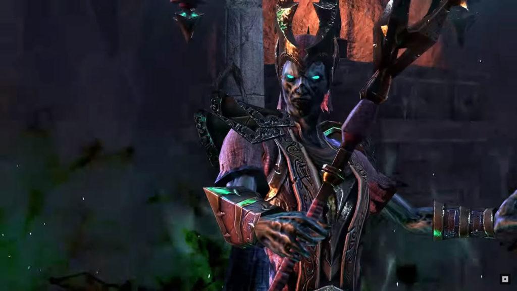 Ondagore the Mad, il boss Lich di The Elder Scrolls Online - Harrowstorm