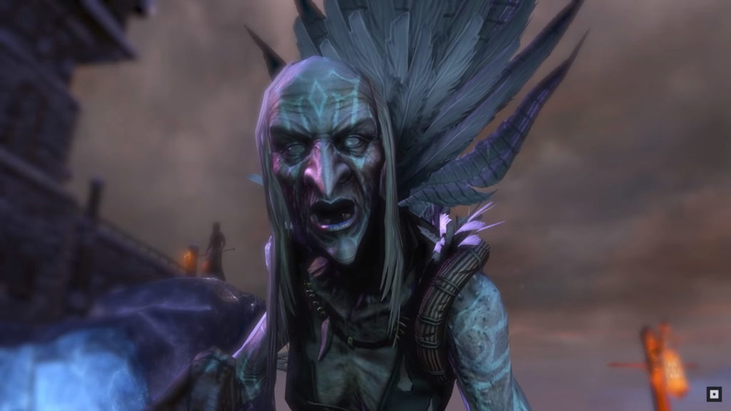 Una delle sorelle Hagraven in The Elder Scrolls Online - Harrowstorm (DLC)