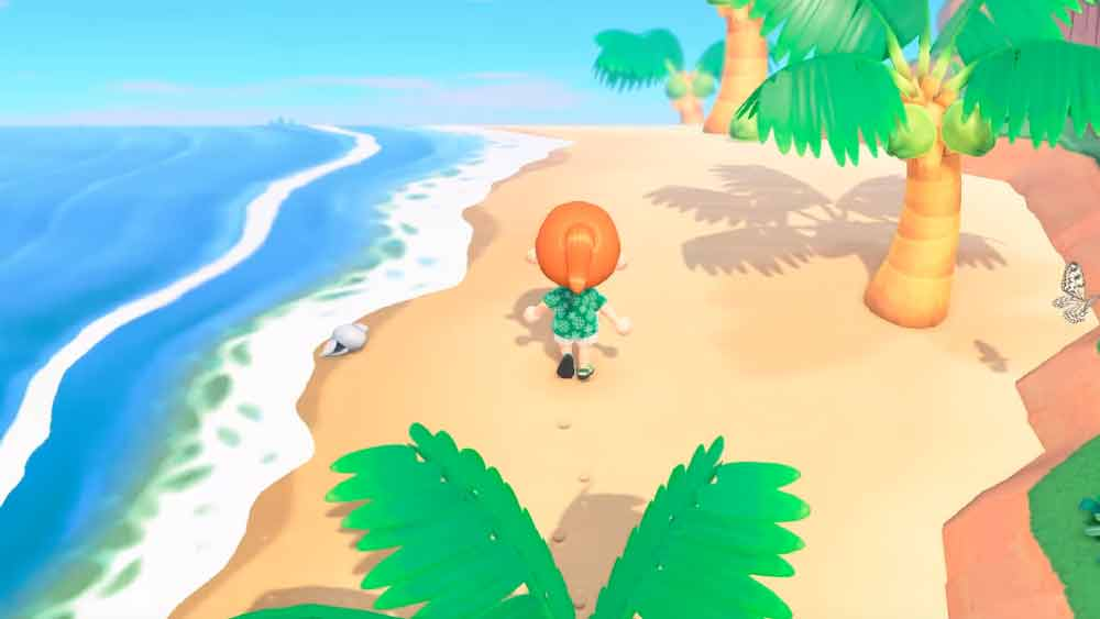 animal crossing spiaggia