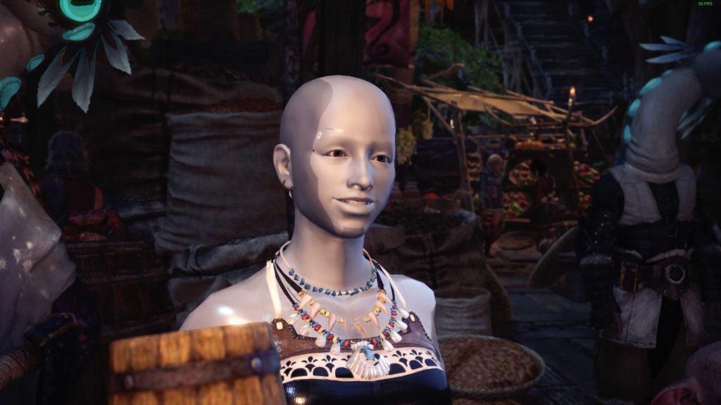 androide di detroit in monster hunter world