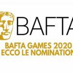bafta games 2020 nomination