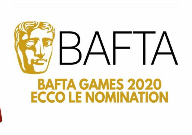 bafta games 2020 nomination
