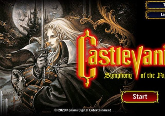symphony of the night rilasciato su ios e android