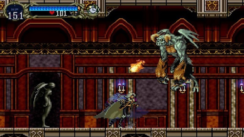 screen di castlevania symphony of the night
