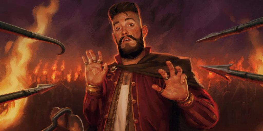Un'illustrazione tratta dalle carte di Magic: the Gathering