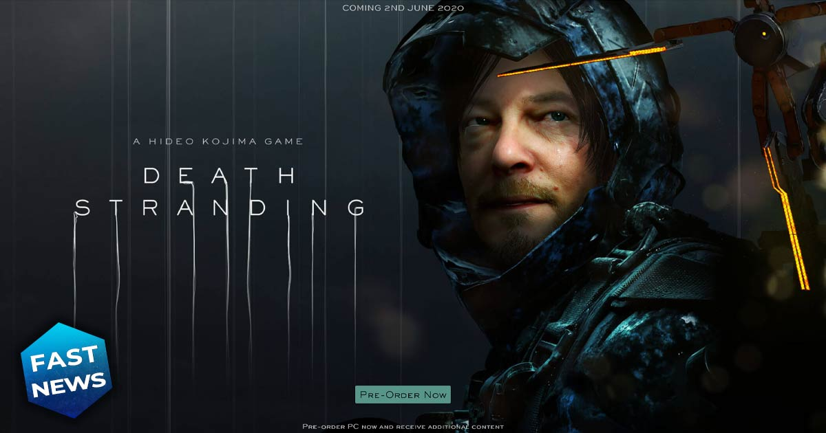 death stranding in arrivo su pc