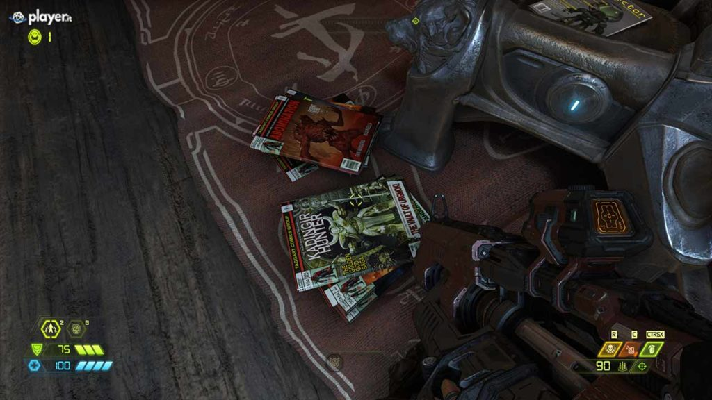 doom eternal stanza e riviste