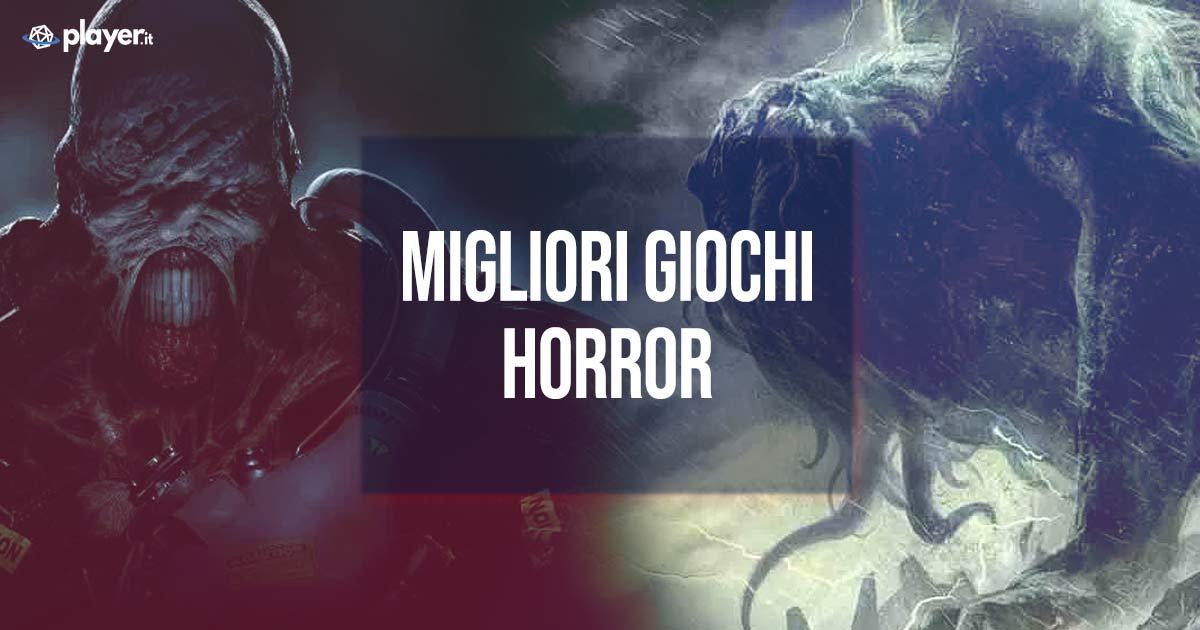 lista dei migliori giochi horror