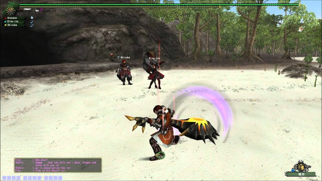 corno da caccia in monster hunter frontier