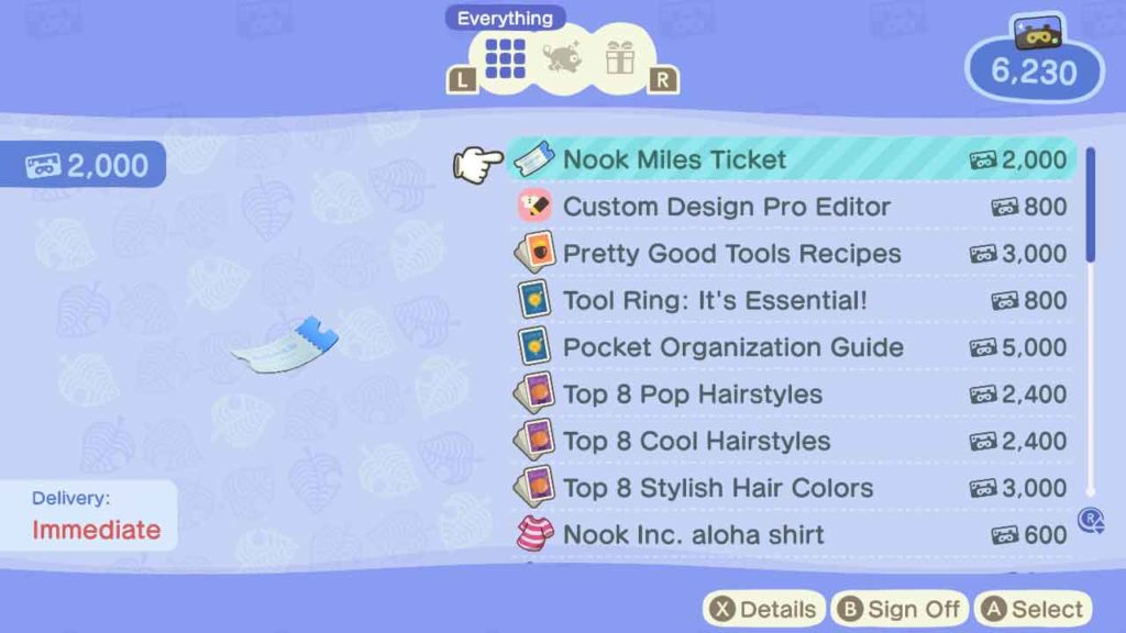 come ottenere le miglia nook in animal crossing new horizons