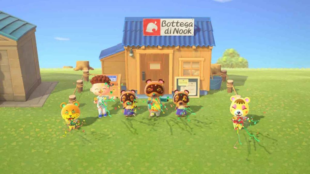 come ottenere la bottega di Nook in animal crossing new horizons