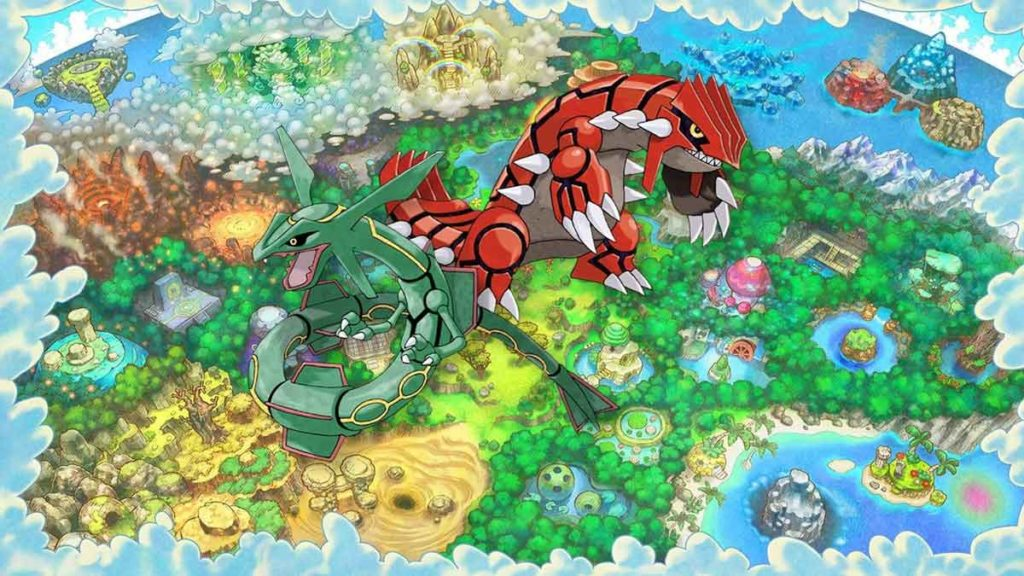 come ottenere groudon e rayquaza in pokemon mystery dungeon DX